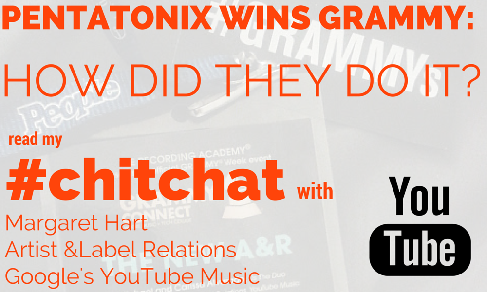 #chitchat with Margaret Hart of Artist & Label Relations at Google's YouTube Music