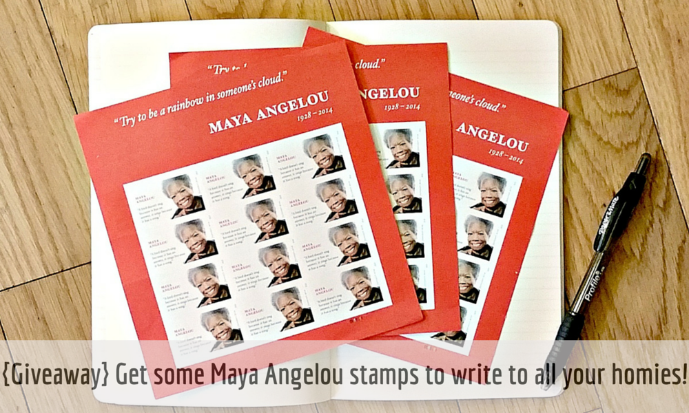 {Giveaway} Don't let missing stamps hold you back from writing to your homies!