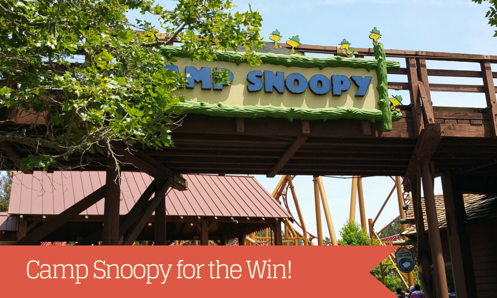 #StationerySaturdays: Snoopy for the Win! A Visit to Knott's Berry Farm