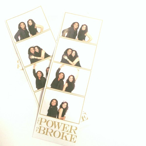 Power of Broke Photo Booth