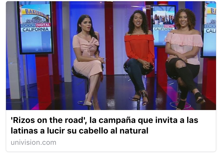 Rizos on the Road at Univision