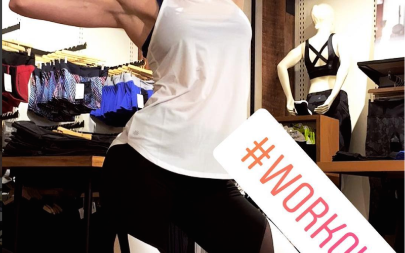 No Weights Workout with Astrid Swan and Athleta